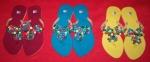 Clover Warna-warni Merah Maroon, Biru Muda, Kuning