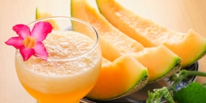 hindari stress dengan melon