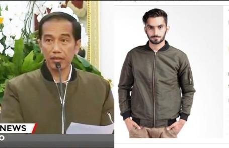 Gara-Gara Jokowi Jaket Bomber Zara Ludes Di Pasaran